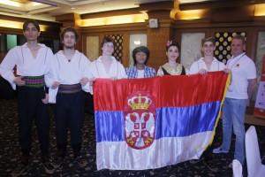 екипа из Србије